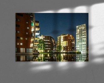 Palastviertel in Den Bosch am Abend von Karin Riethoven