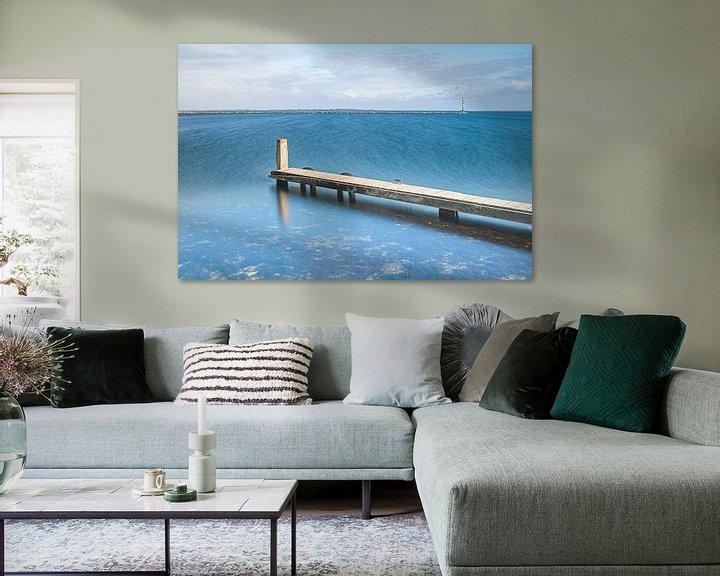 Sfeerimpressie: Grevelingenmeer, steiger van Teuni's Dreams of Reality