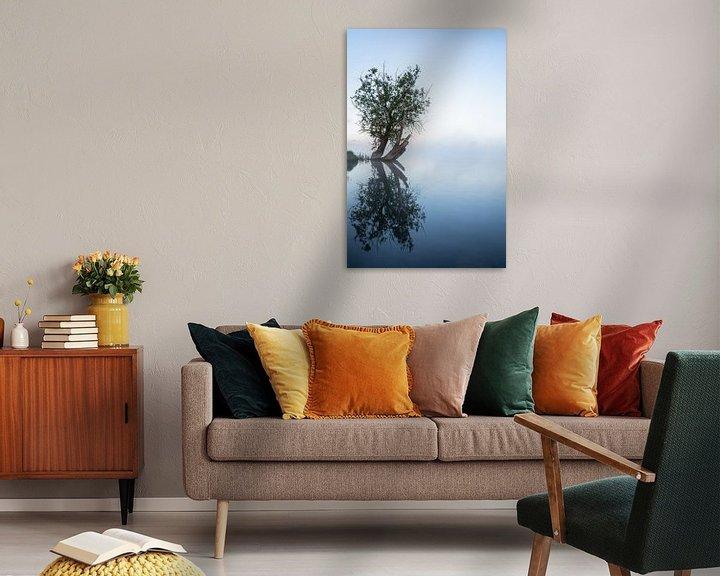 Sfeerimpressie: Reflecterende boom van Albert Lamme
