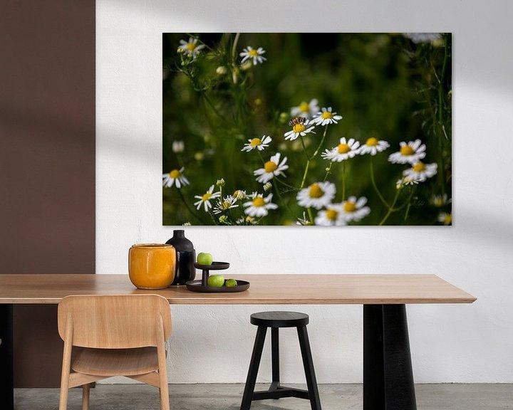 Beispiel: Blumen und Bienen von Angela Kiemeneij