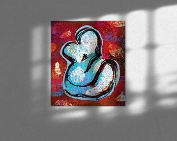 Zusammensein von ART Eva Maria