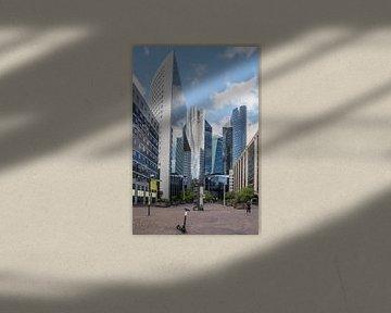 La Défense, Parijs op zondag. van Roelof van Gelder