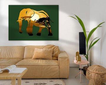 Elefant von Minca de Jong