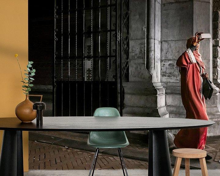 Sfeerimpressie behang: LOST IN AMSTERDAM (2019-335) van OFOTO RAY van Schaffelaar