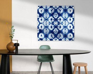 Batik Blau von C. Catharina