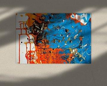 Abstrakte Malerei - Schluchtansicht 3 von C. Catharina