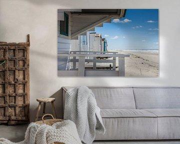 Strandhuisje van Jan Venema