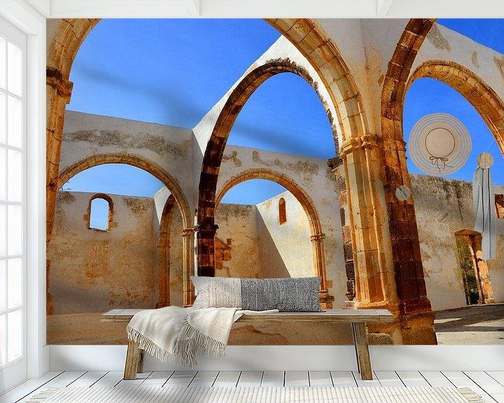 Beispiel fototapete: Verlassene Kirche von Dustin Musch