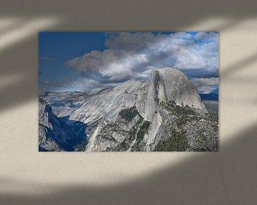 Halve koepel in Yosemite National Park van Robert Styppa