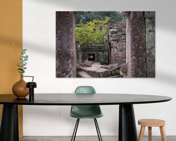 Sfeerimpressie: Tempels van Angkor van Yvs Doh