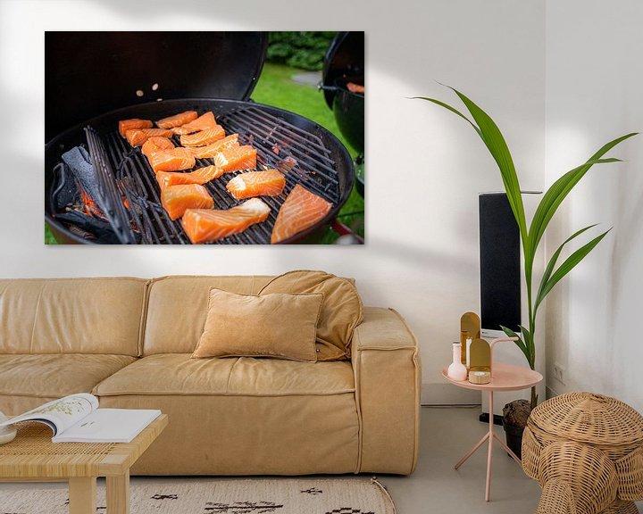 Sfeerimpressie: Koken op de buiten  keuken in de zomer van Fotografiecor .nl