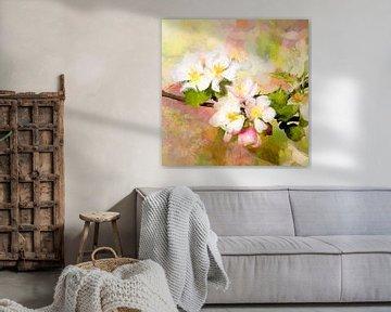 Apfelblüte von Andreas Wemmje