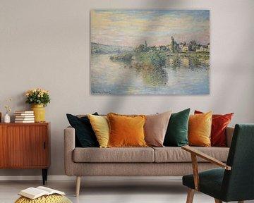 Seineufer bei Lavacourt, Claude Monet