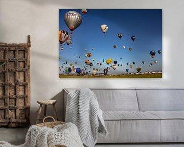 Heißluftballon-Festival