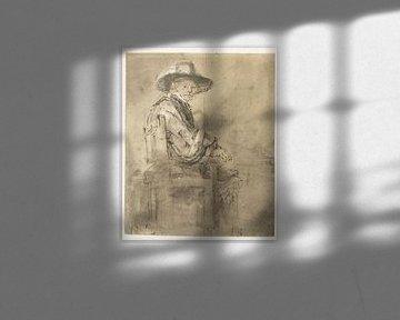 Sitzender Stahlbauer: Jacob van Loon, Rembrandt van Rijn