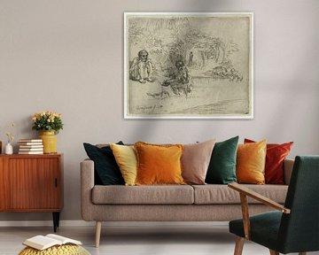 Badegäste, Rembrandt van Rijn