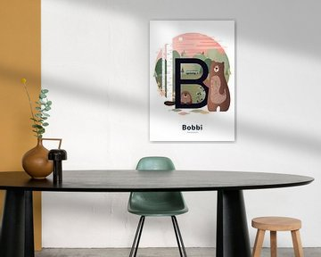 Name Poster Bobbi von Hannahland .