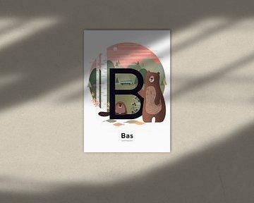 Name Poster Bass von Hannahland .