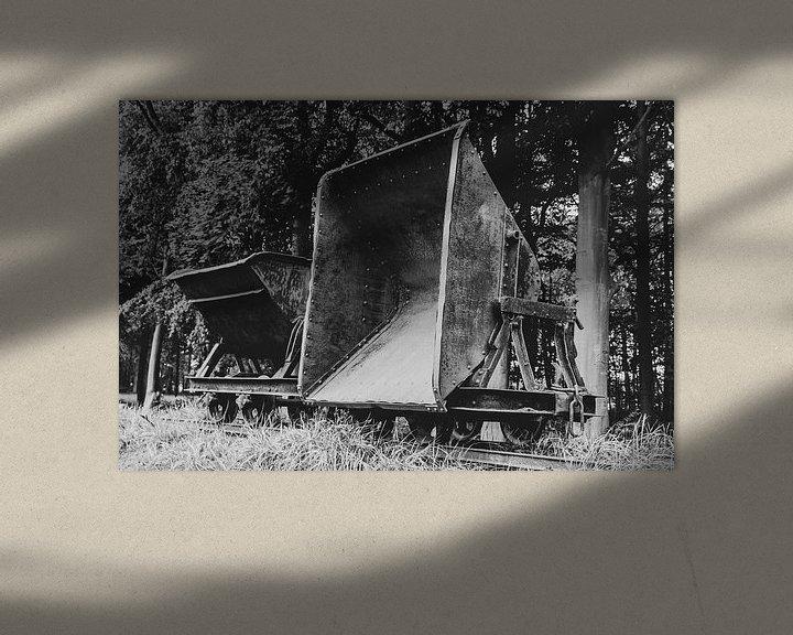 Beispiel: Alter Torftransportwagen von Anjo ten Kate
