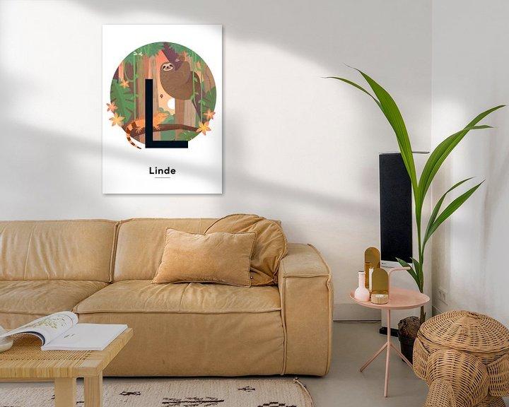 Beispiel: Name Poster Linde von Hannahland .