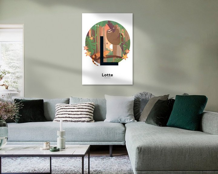 Beispiel: Name Poster Lotte von Hannahland .