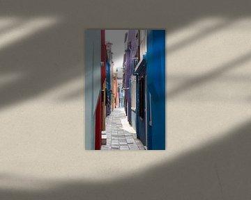 Venetië Burano van heidi borgart