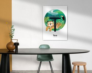 Name Poster Tara von Hannahland .