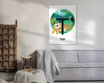 Name Poster Tygo von Hannahland .