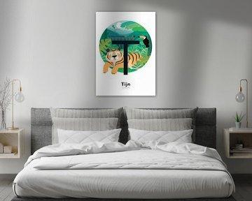 Name Poster Zeit von Hannahland .