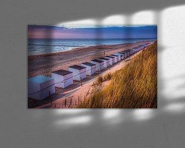 Maisons de plage sur Jan Venema