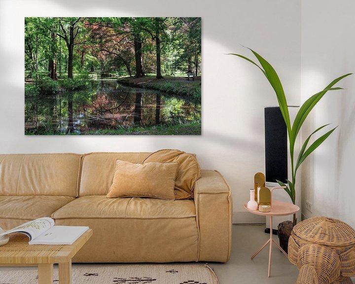 Sfeerimpressie: Herfstkleuren in het bos van Ingrid Aanen