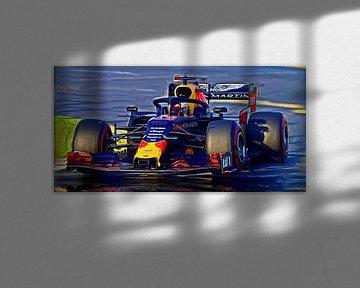 Max again... Season 2019 - Max Verstappen #33 von Jean-Louis Glineur alias DeVerviers