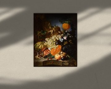 Stillleben mit Obst, Jan van Os