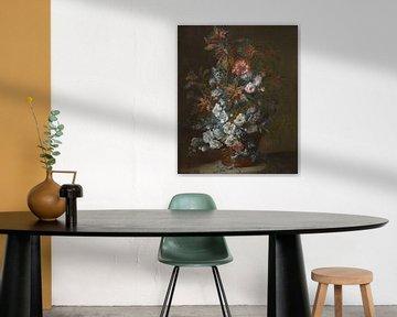 Blumen im Korb, Jean-Baptiste Monnoyer