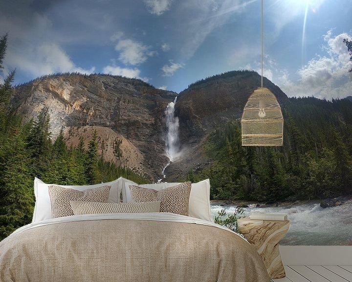 Beispiel fototapete: takakkaw falls  Kanada von Wilbert Van Veldhuizen