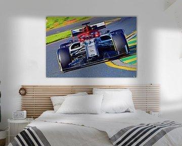 Räikkönen 2019 von Jean-Louis Glineur alias DeVerviers