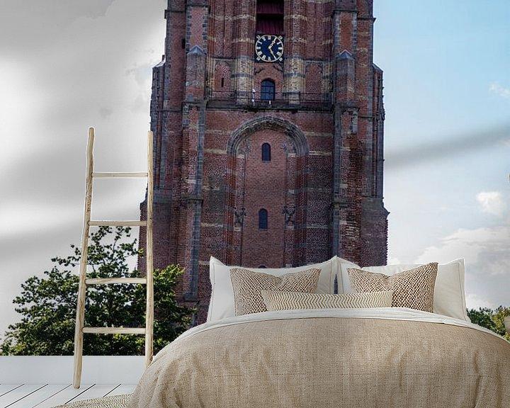 Beispiel fototapete: Die Oldehove von Leeuwarden von Sander de Jong