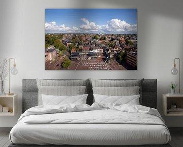 Uitzicht over Leeuwarden