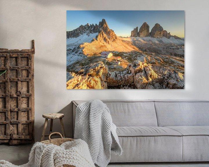 Sfeerimpressie: Dreizinnenhut in het avondlicht van Michael Valjak