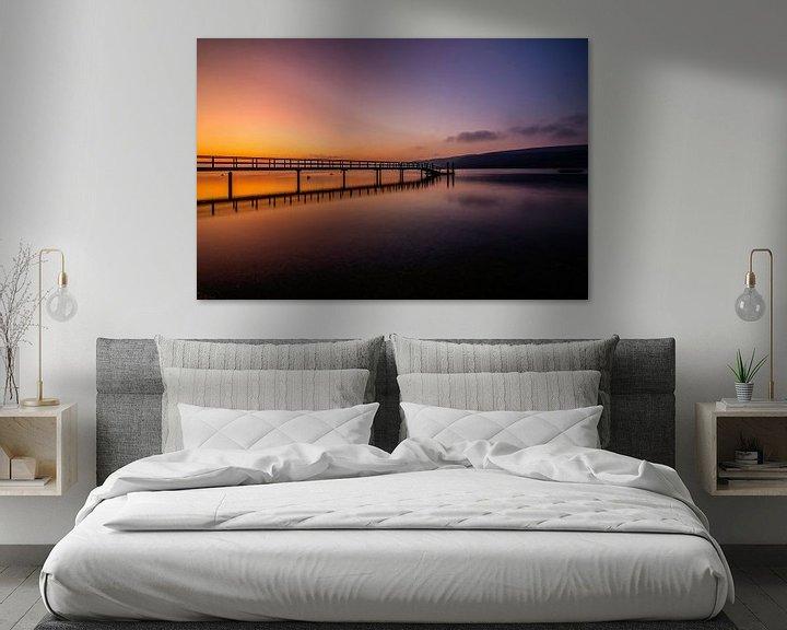 Beispiel: Morgendämmerung am Bodensee von Marcus Lanz