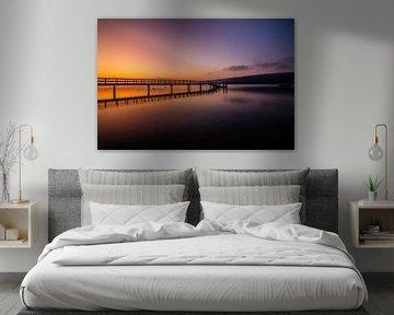 De dageraad aan de Bodensee van Marcus Lanz