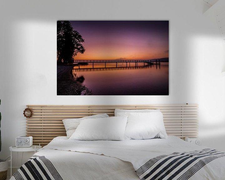 Beispiel: Morgenstimmung am Bodensee von Marcus Lanz