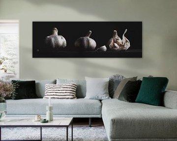 Garlic Panorama van Anoeska Vermeij Fotografie