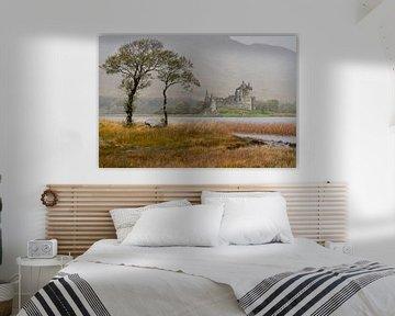Kilchurn Castle, Glencoe Schottland von Ab Wubben