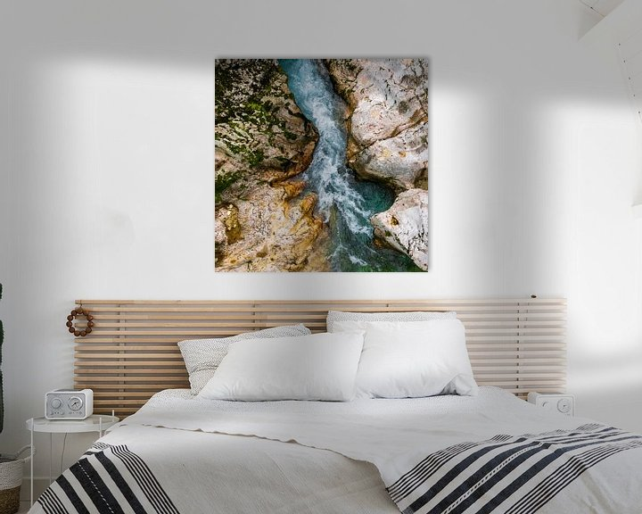 Sfeerimpressie: De rotsen die worden uitgesleten door de rivier van Leontine van der Stouw