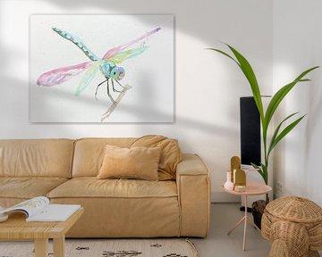 Die Libelle von Natalie Bruns