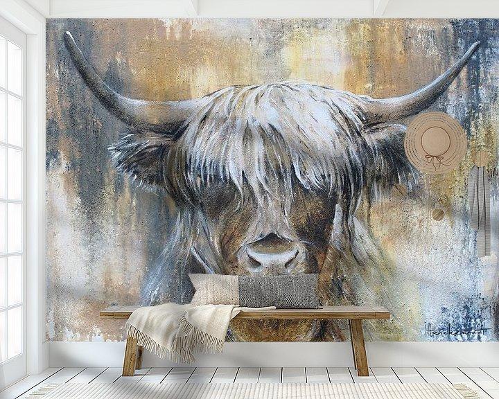Beispiel fototapete: Hochlandkuh I von Atelier Paint-Ing