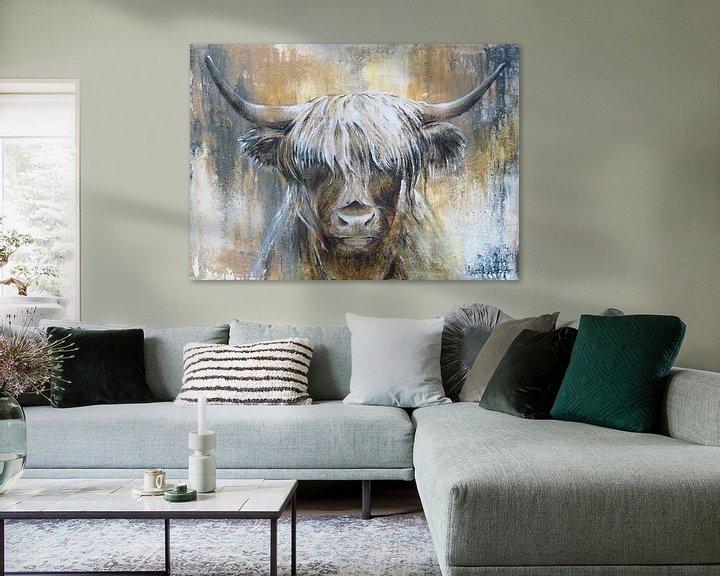 Beispiel: Hochlandkuh I von Atelier Paint-Ing