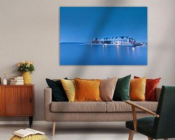 Eine blau-blaue Stadt! von P Kuipers