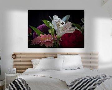 Blumenstrauß mit Blumen von Gerrit Veldman
